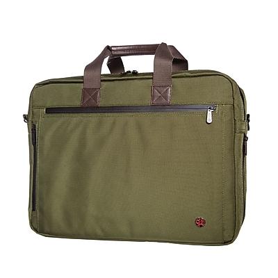 Token Lawrence Laptop Bag Large With Back Zipper Olive (TK-445Z OLV)