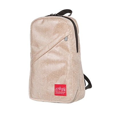 Manhattan Portage Midnight Ellis Backpack with Zipper Pocket Champaign (1907-MDN-Z CHP)