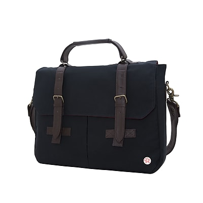 Token Waxed Cortelyou Bag Black (TK-410-WX BLK)
