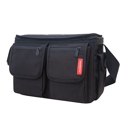 Manhattan Portage Shutterbug Messenger Bag Black (1540 BLK)