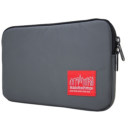 Manhattan Portage Waterproof Nylon Tablet Sleeve (1029-NW GRY)