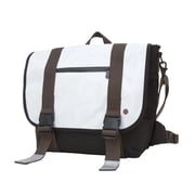 Token Lorimer Enamel Messenger Bag Medium White (TK-614-E WHT)