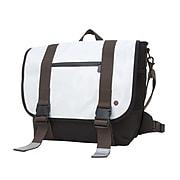 Token Lorimer Enamel Messenger Bag Medium White (TK-614-E WHT)