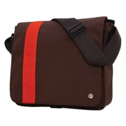 Token Astor Shoulder Bag Medium Dark Brown/ Orange (TK-4288 DBR/ORG)