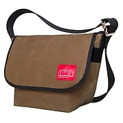 Manhattan Portage Waxed Vintage Messenger Bag Small Field Tan (1605V-WP FTAN)