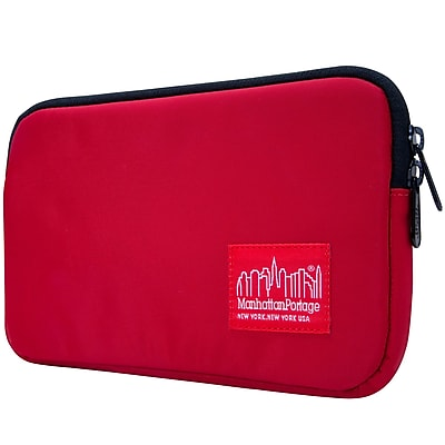 Manhattan Portage Waterproof Nylon Tablet Sleeve (1029-NW RED)