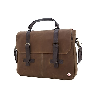 Token Waxed Cortelyou Bag Field Tan (TK-410-WX FTAN)