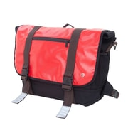 Token Lorimer Vinyl Messenger Bag Large Red (TK-615 RED)