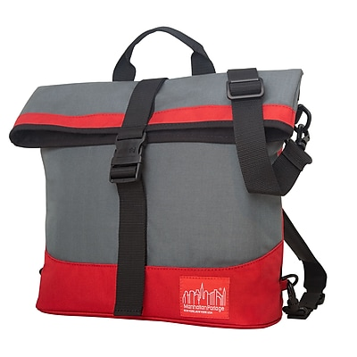 Manhattan Portage Double Dare Convertible Grey/ Red (1245 GRY/RED)