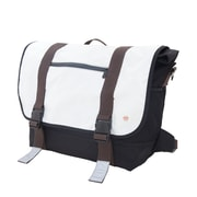 Token Lorimer Vinyl Messenger Bag Large White (TK-615 WHT)