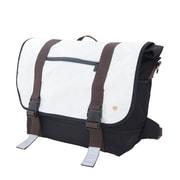 Token Lorimer Vinyl Messenger Bag Large White (TK-615 WHT)