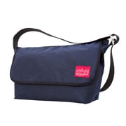 Manhattan Portage Waxed Vintage Messenger Bag Large Nylon Lining Navy (1607V-WCN NVY)