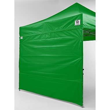 Impact Canopies Pop Up Canopy Tent Sidewall Kit, 10x10, Green