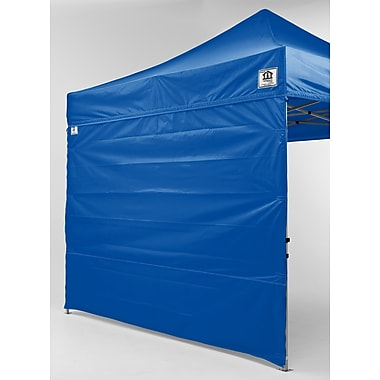 Impact Canopies Pop Up Canopy Tent Sidewall Kit, 10x10, Blue