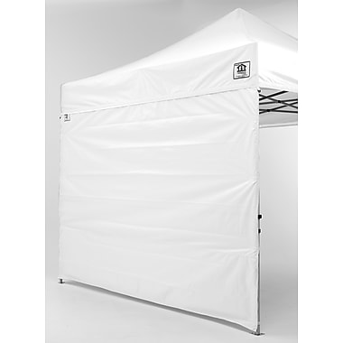 Impact Canopies Pop Up Canopy Tent Sidewall Kit, 10x10, White