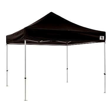 Impact Canopies Instant Pop Up Canopy Tent, 10x10, Black
