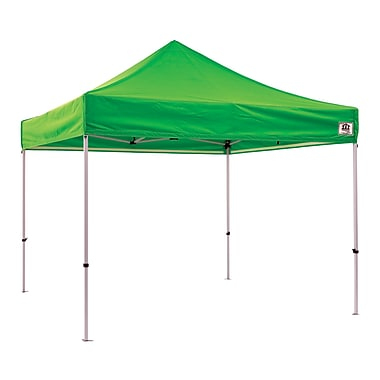 Impact Canopies Instant Pop Up Canopy Tent, 10x10, Green