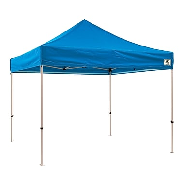 Impact Canopies Instant Pop Up Canopy Tent, 10x10, Blue