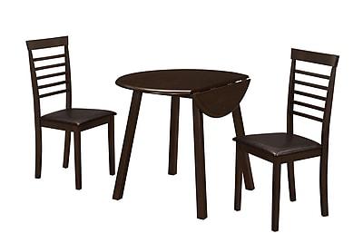 Monarch Specialties Cappuccino Dining Set ( I 1004 )
