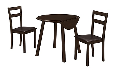 Monarch Specialties Cappuccino Dining Set ( I 1005 )