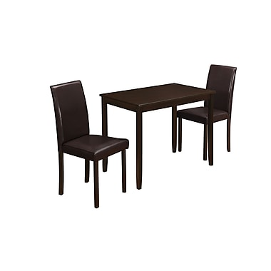 Monarch – Table en bois de 39 po de larg., brun (I 1015)