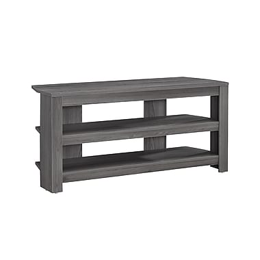 Monarch TV Stand, Grey Corner, (I 2566)