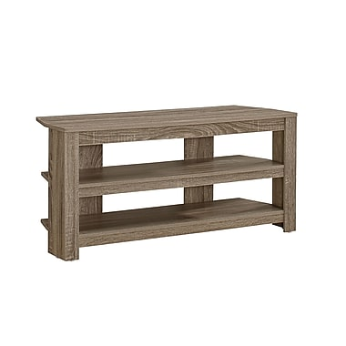 Monarch TV Stand, Dark Taupe Corner, (I 2569)