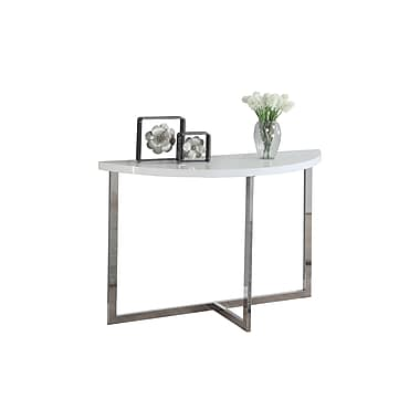 Monarch Console Table, White (I 3040)