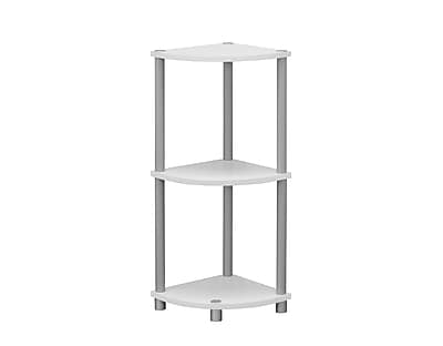 Monarch Specialties Plastic/Poly Accent Table, White, Each (I 3138)