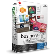 Summitsoft – Logiciel Business Card Studio 10, Windows, bilingue