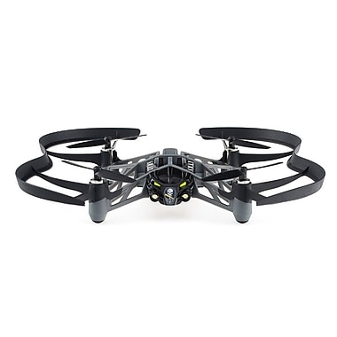 Parrot PF723100 Minidrone Airborne Night Swat, Black
