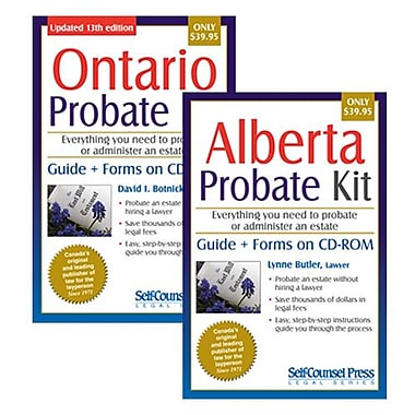 Self Counsel Press – Probate Kit