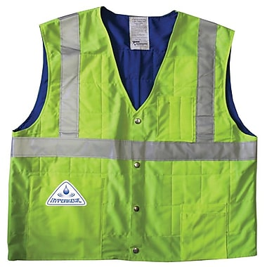 TechNiche HYPERKEWL™ Evaporative Cooling Traffic Safety CSA Class II Compliant Vest, Hi-Viz Orange, 2XL/3XL