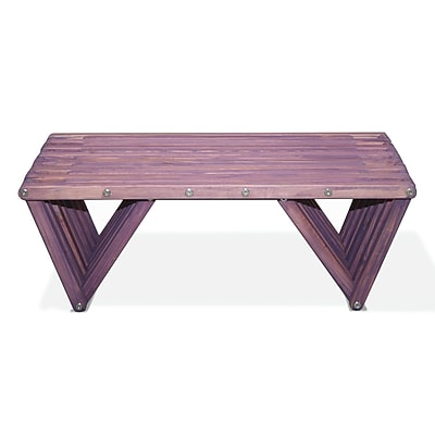 Glodea XQuare Coffee Table; Purple Berry