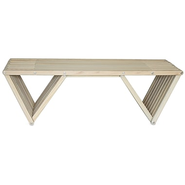 Glodea XQuare Coffee Table; Light Gray