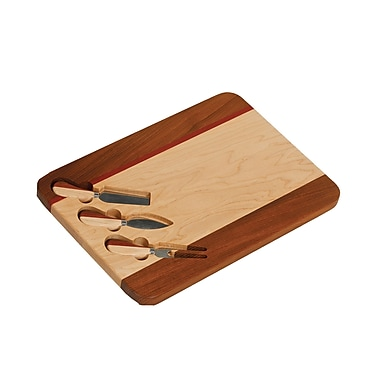 Picnic Plus by Spectrum Cheese Board w/ Knives