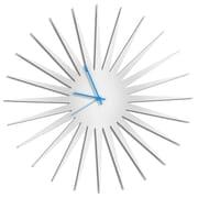 Metal Art Studio 23'' MCM Starburst by Adam Schwoeppe Wall Clock; Blue
