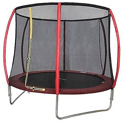 Merax 10' Round Trampoline with Safety Enclosure