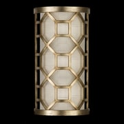 Fine Art Lamps Allegretto 2-Light Wall Sconce; Burnished Gold