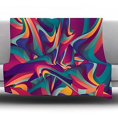 KESS InHouse Wrong Past by Danny Ivan Fleece Throw Blanket; 40'' H x 30'' W