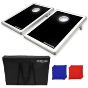 GoSports LED Light Up Tailgate Size Cornhole Kit