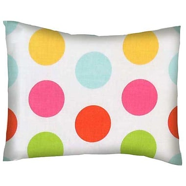 Sheetworld Large Dots Cotton Percale Pillow Cover