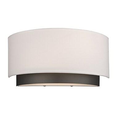 Z-Lite – Applique Jade 196-2S, 2 ampoules, tissu blanc