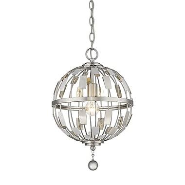 Z-Lite – Luminaire suspendu Almet 430B12-BN, 1 ampoule, cristal transparent
