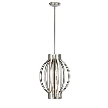 Z-Lite – Lampe suspendue Moundou 436-16BN, 4 ampoules