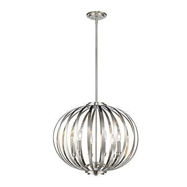Z-Lite – Lampe suspendue Moundou 438-24BN, 6 ampoules