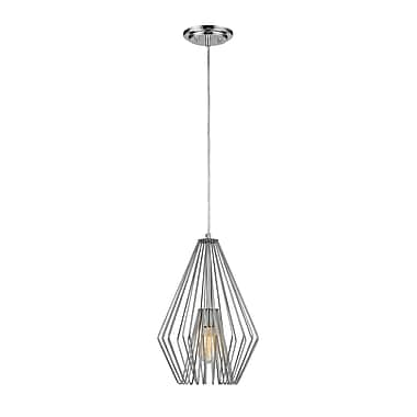 Z-Lite – Mini lampe suspendue Quintus 442MP12-CH, 1 ampoule,