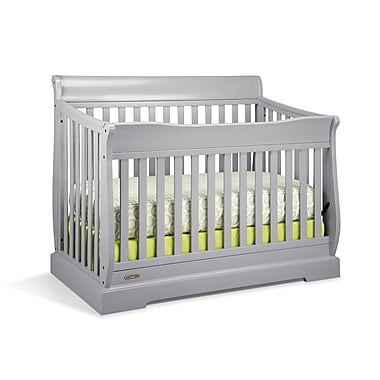 Graco Maple Ridge Convertible Crib, Pebble Grey, (AD904560-14F)