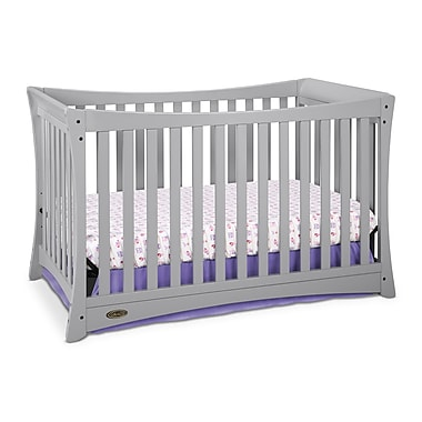 Graco Tatum Convertible Crib, Pebble Grey, (AD904520-12F)