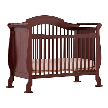 Stork Craft Valentia Stages 4-in-1 Crib, Cherry, (AD904587-254)